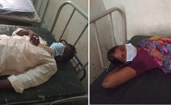 TDP Leader Attack On Couple In Anantapur District - Sakshi