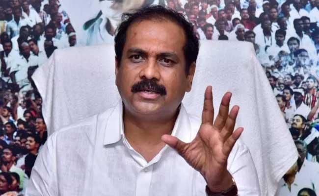 Minister Kurasala Kannababu Comments On Chandrababu Naidu & Lokesh - Sakshi