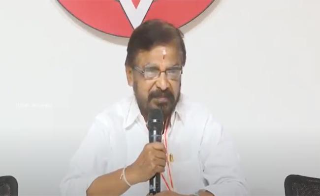 Madasu Gangadharam Resigned To Janasena Party - Sakshi