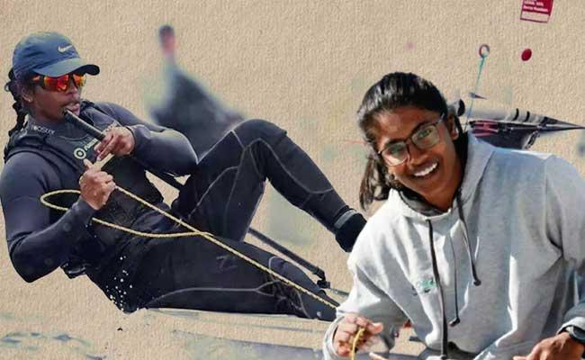 Netra Kumanan Becomes First Woman Sailor To Qualify For Olympics - Sakshi