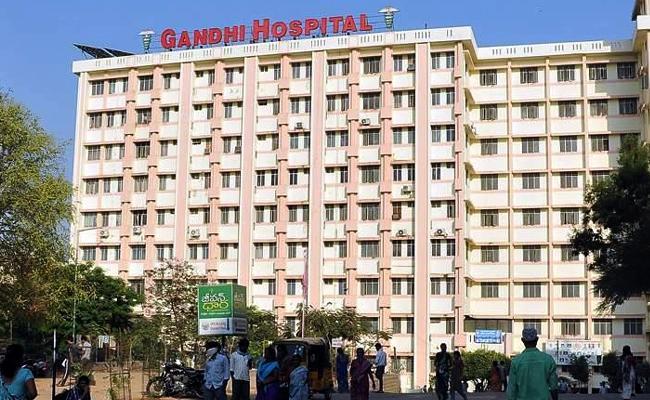 Case Filed On Gandhi Hospital Regular Employee Hyderabad - Sakshi