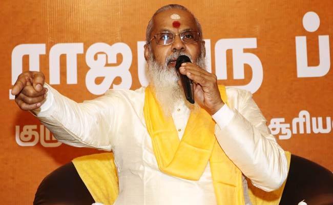 Suryan Namboothiry Swamy comments On Rajinikanth Political Entry - Sakshi
