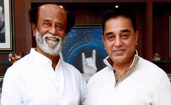 Rajinikanth And Kamal Haasan To Clash At Box Office - Sakshi