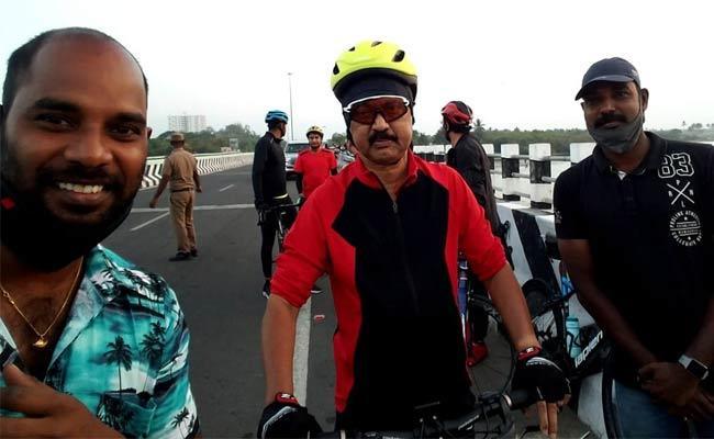 MK Stalin Bike Riding In Tamilnadu - Sakshi
