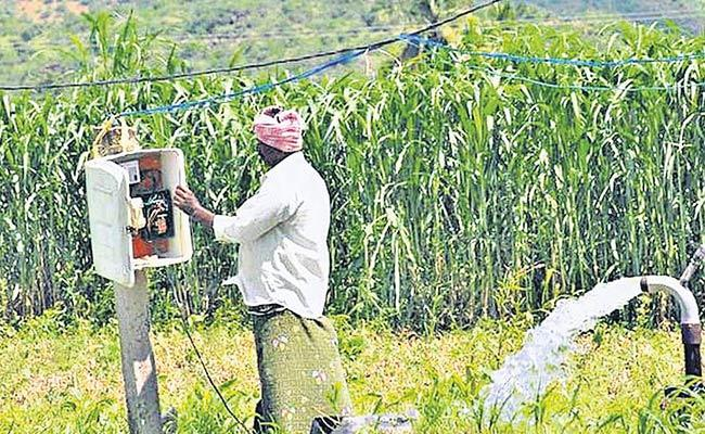 Decreasing Agricultural Electricity Consumption - Sakshi