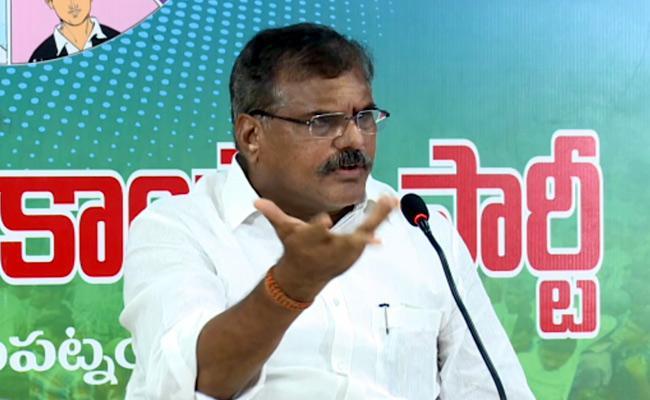 Minister Botsa Satyanarayana Serious Comments On Chandrababu - Sakshi