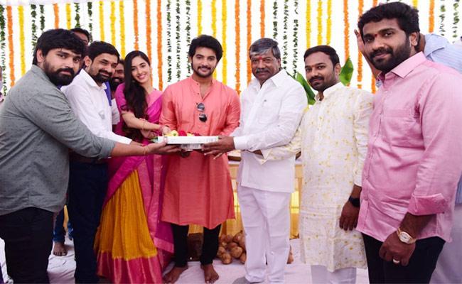 Aadi Sai Kumar, Director Bhaskar Bantupalli New Film Launched - Sakshi