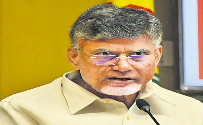 Chandrababu comments at the Tirupati by-election campaign meeting - Sakshi