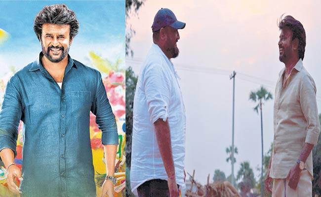Rajinikanth Latest Stills From Annaatthe Set Goes Viral - Sakshi