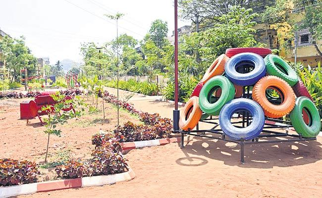 Municipal Department Activity For The Construction Of Parks In AP - Sakshi