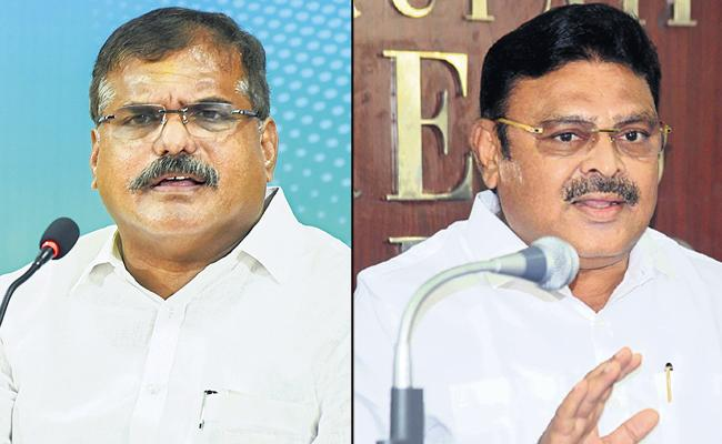 YSR Congress Party Leaders Fires On TDP And BJP - Sakshi