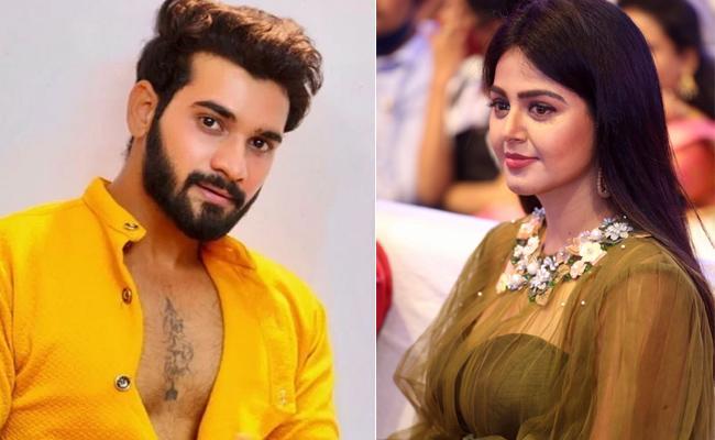 Bigg Boss Fame Akhil Clarifies On Pairup With Monal Gajjar News - Sakshi