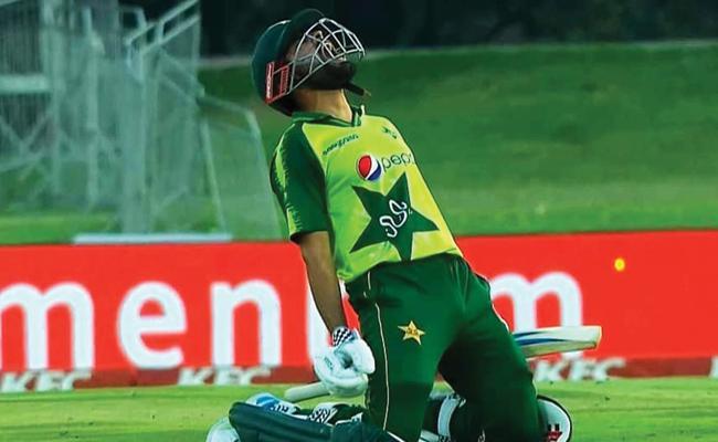 Babar Azam Record Century In T20I SA Vs Pak - Sakshi