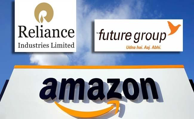 Future Reliance deal :  Amazon moves SC against Delhi HC stay order  - Sakshi