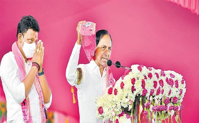 CM KCR Speech At Public Meeting In Haliya - Sakshi