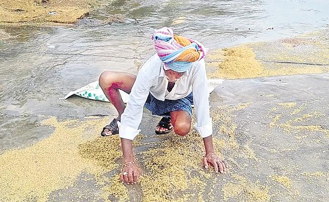 Non Seasonal Rains In Khammam, RangaReddy District - Sakshi