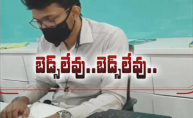 Sakshi Report On Availability Of Covid Beds In Private Hospitals At Hyderabad
