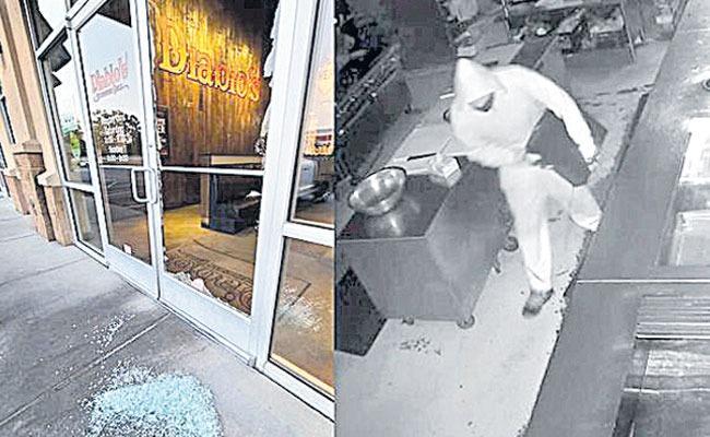 Georgia restaurant owner offers job to burglar who stole cash register - Sakshi