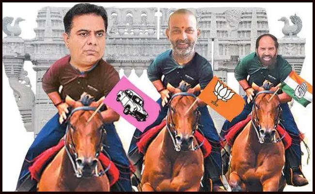 Warangal Greater Election All Parties Focus On Survey - Sakshi