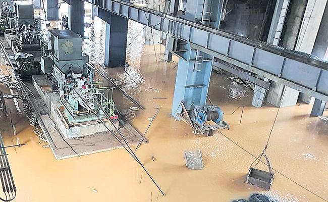 Khammam: Problems In Bhadradri Thermal Plant Construction - Sakshi