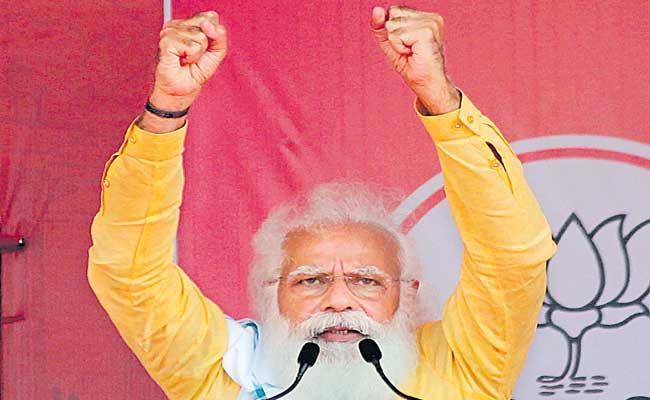 TMC broken, Mamata Banerjee sensing defeat - Sakshi