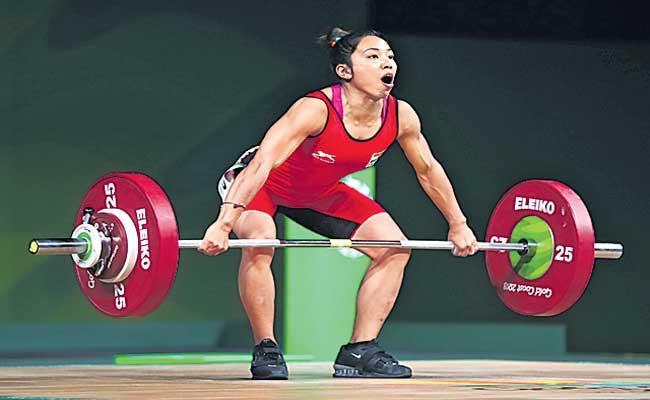 Mirabai Chanu sets new World Record - Sakshi