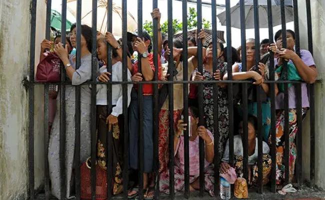 Myanmar Army Released 23 thousand Prisoners - Sakshi