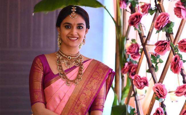 Keerthi Suresh As Jos Alukkas Campaigner - Sakshi