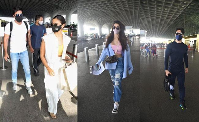 Alia Bhatt, Disha Patani Off To Maldives For Holiday Trip With Partners - Sakshi