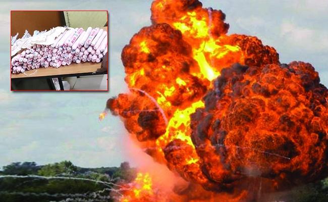 Ammonium Nitrate And Detonator Making Illegal Distribution Special Story - Sakshi