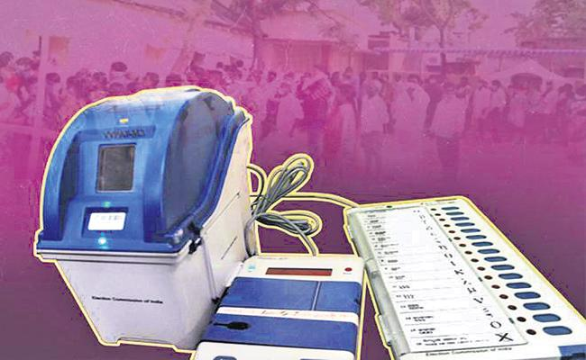 Voters verdict in Tirupati Parliament by-elections is stored in EVMs - Sakshi
