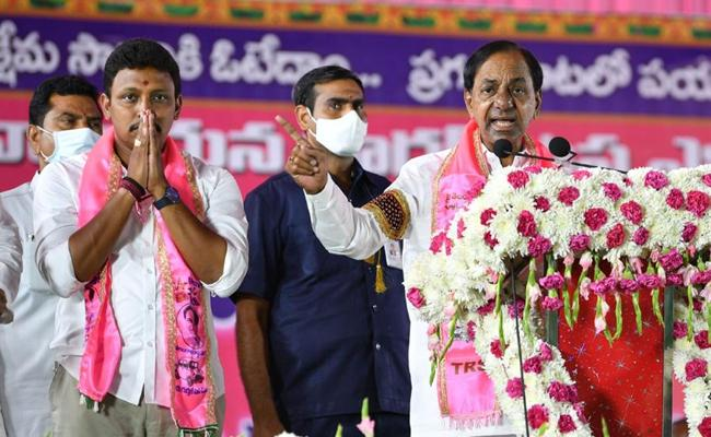 Nagarjuna Sagar Meeting Breaks Corona Wave In Telangana - Sakshi
