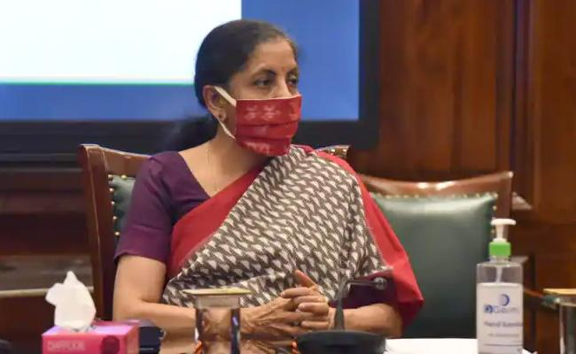 FM Nirmala Sitharaman speaks to business and Chamber leaders - Sakshi