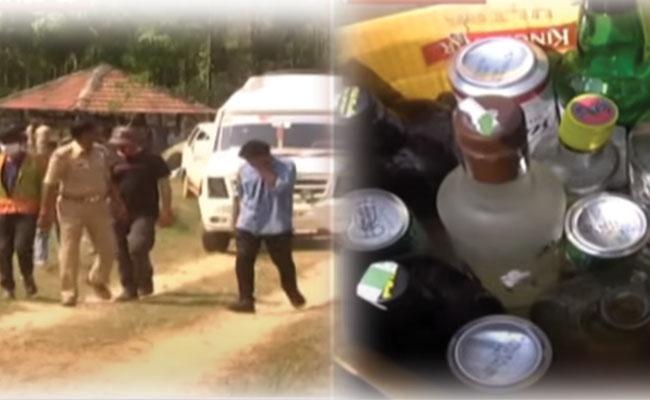 Karnataka: Mangaluru Cop Suspended For Attending Rave Party in Hassan - Sakshi