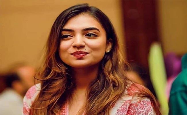 Nazriya Nazim Joins First Day Shooting Of Telugu Debut Movie - Sakshi