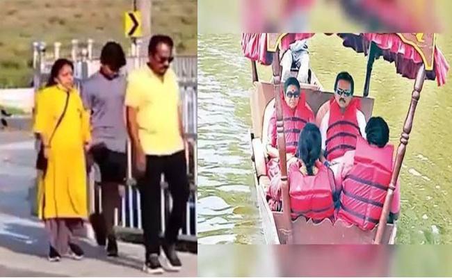 Tamil Nadu Leaders Leaves To Kodaikanal With Families - Sakshi