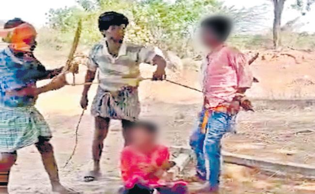 Plucking Of Mangoes Behaves Abusively Towards Two Children In Mahabubabad - Sakshi