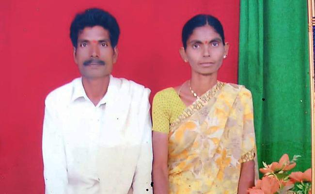 Nalgonda: Couple Assassinated By Relatives Neredugommu Mandal - Sakshi