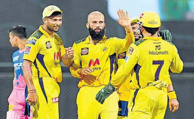 Chennai Super Kings Beat Rajastan Royals 45 Runs - Sakshi