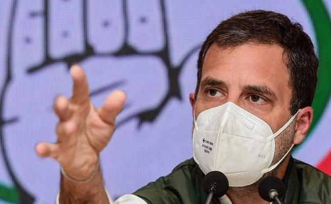 Rahul Gandhi Testes Positive For Coronavirus - Sakshi