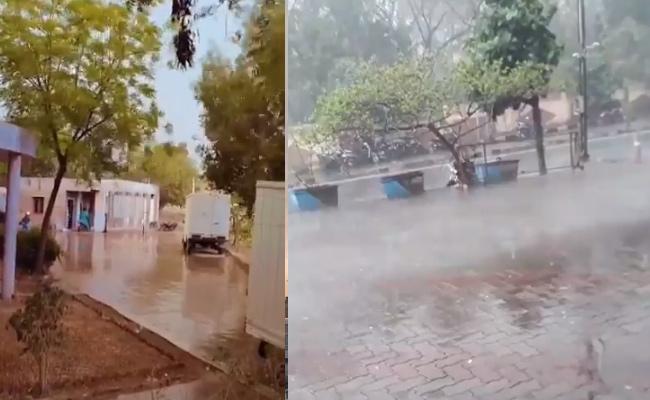 Rain Fall Update In Hyderabad - Sakshi