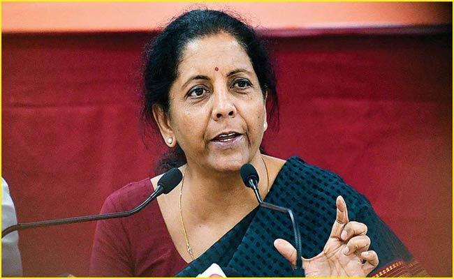 Govt working to save lives, livelihood: FM Nirmala Sitharaman - Sakshi