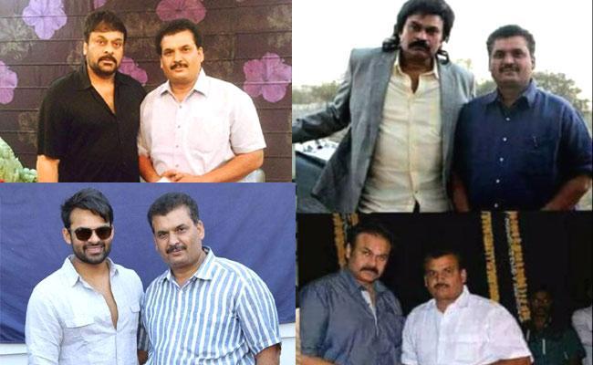 Mega Family Emotional About Chiranjeevi Yuvatha President Prasad Reddy Death - Sakshi