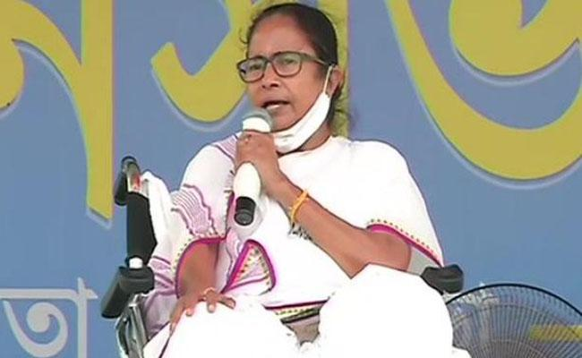 CM Mamata Banerjeealleged thatSecond Covid-19 wave Modi-made disaster - Sakshi