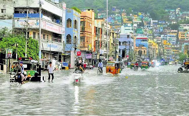Two days of rain in coastal Andhra - Sakshi