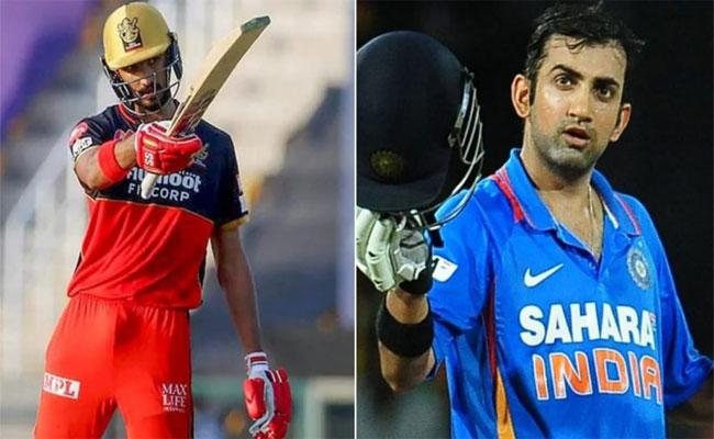 IPL 2021: Gambhir Was A Big Game Player Wants To Emulate Him Says Devdutt Padikkal - Sakshi