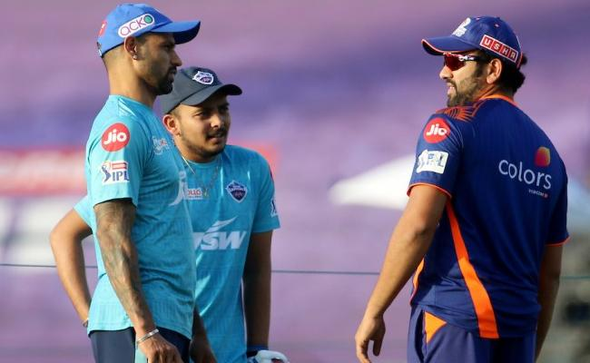 IPL 2021: We Should Have Batted Better In The Middle Overs, Rohit - Sakshi