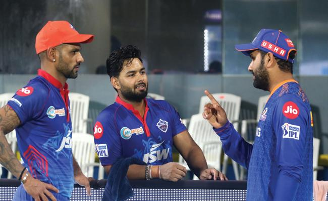 IPL 2021 MI Captain Rohit Sharma Fined For Slow Over Rate - Sakshi