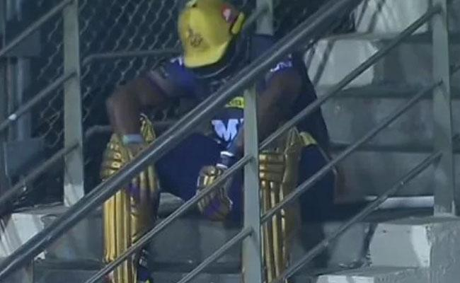 IPL 2021: Twitter Reacts To Andre Russells disappointed Picture - Sakshi