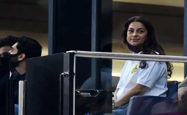 IPL 2021: Juhi Chawla Says Proud Of Our Team Even We Lost Match To CSK - Sakshi